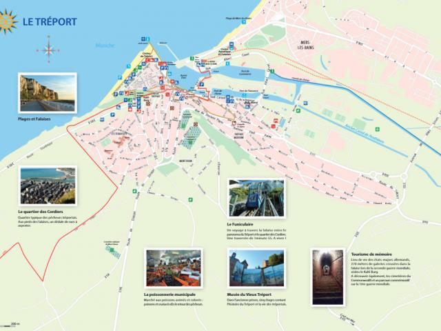 Couverture Carte Le Tréport