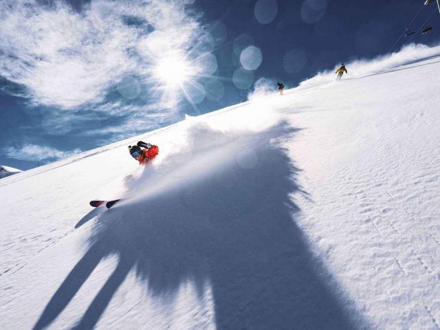 ski poudreuse