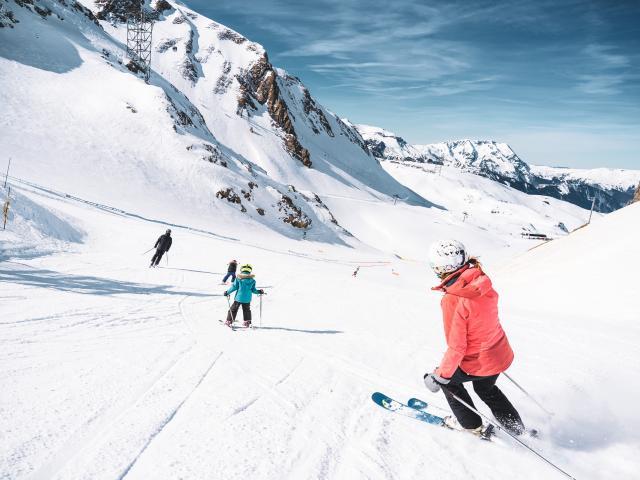 Ski en famille sur le domaine skiable des 2 Alpes