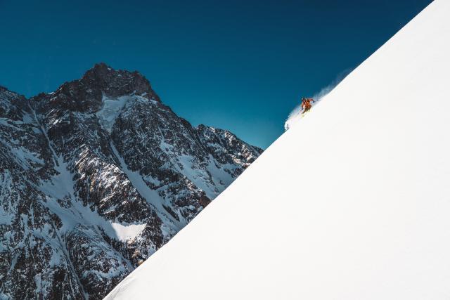Ski hors-piste et Freeride en Oisans, sur le domaine des 2 Alpes