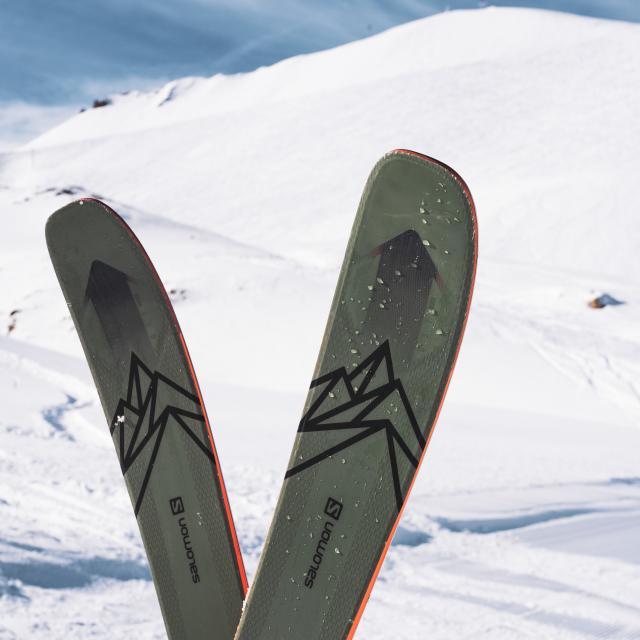 Salomon partenaire de la station de ski Les Deux Alpes