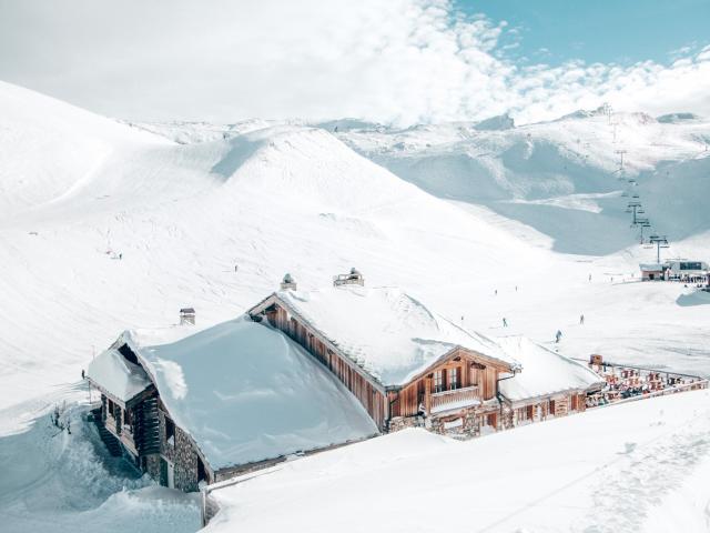 Restaurant d'altitude si tu es sur le secteur de la Toura aux Deux-Alpes