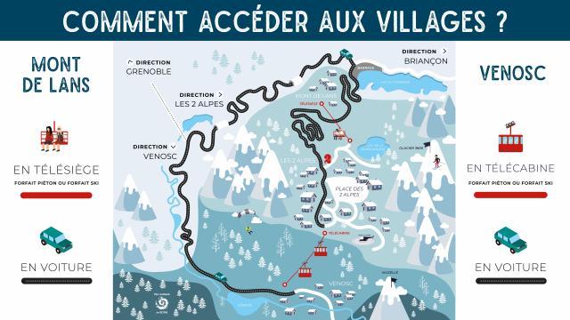 Accès Villages Hiver