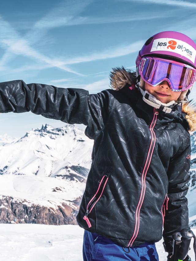 preparer journee de ski les2alpes
