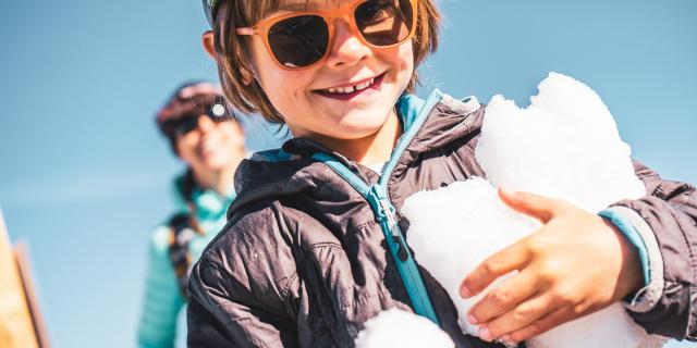 glacier été neige 3400m