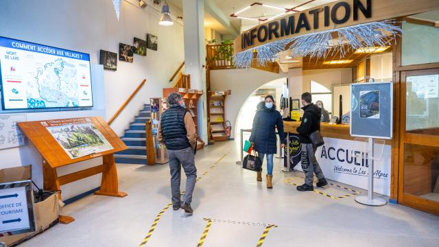 Accueil office de tourisme
