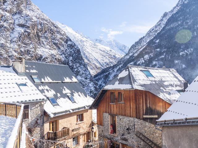 Coeur Village Neige Venosc Les 2 Alpes