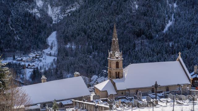 Église Vensoc Les 2 Alpes Hiver