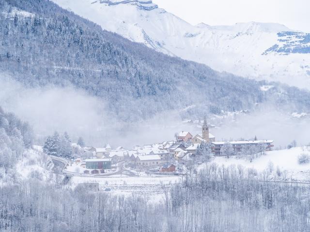 Mont De Lans Hiver Les 2 Alpes Neige