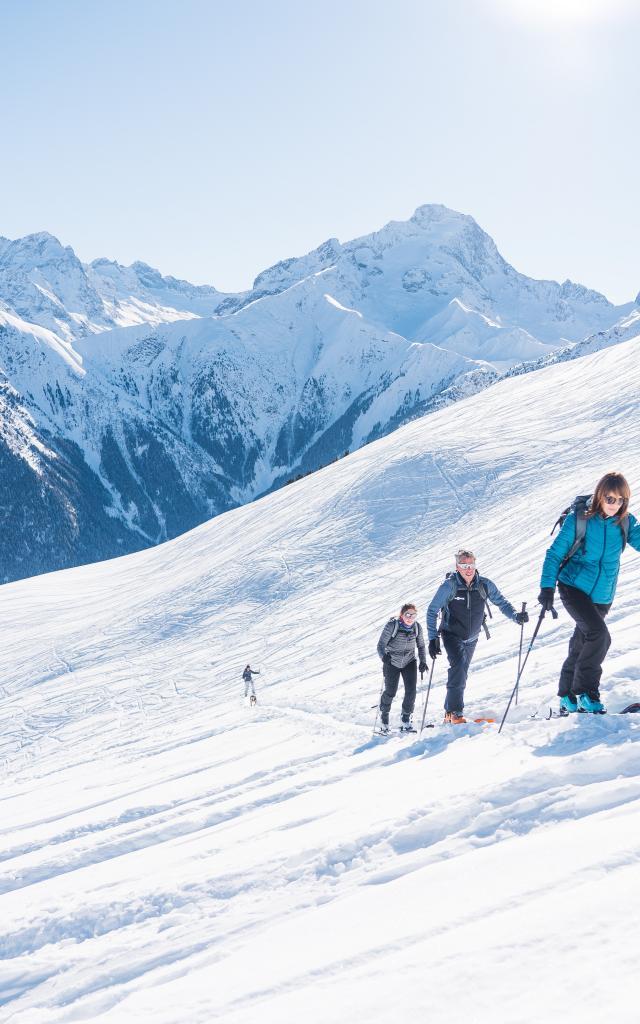 Ski De Randonnée Aux 2 Alpes