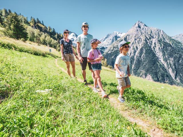 2 alpes randonnée famille été
