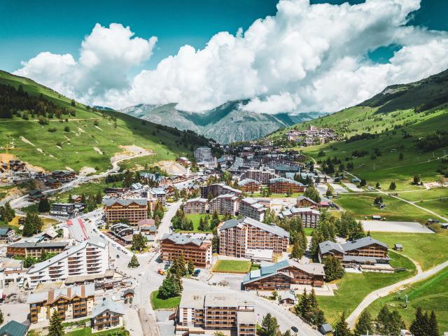 drone les 2 alpes été