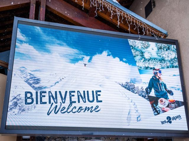 Ecran Information Les 2 Alpes