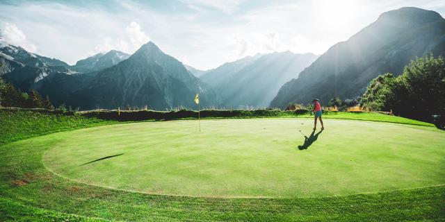 golf vue les2alpes été