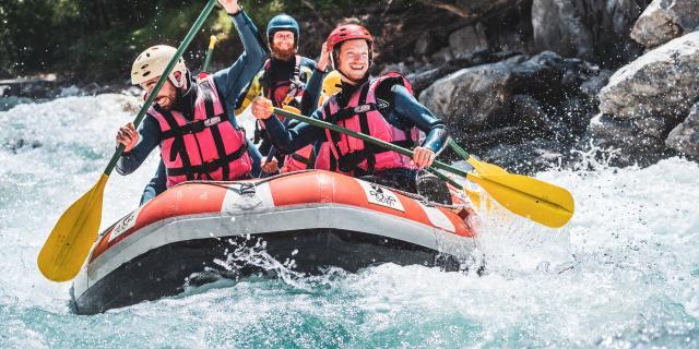 rafting amis été les2alpes vénéon eaux vives
