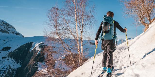 Ski De Randonnée Sur Les Balcons Les 2 Alpes