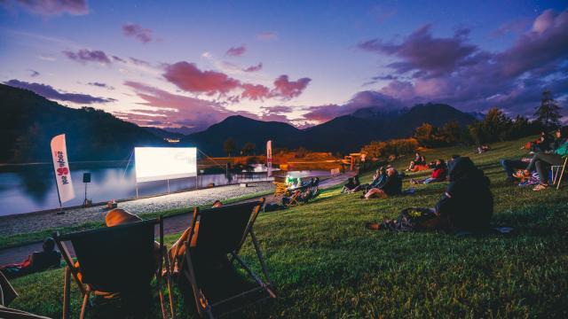 Cinema Plain Air Lac Buissonnière
