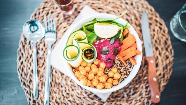 Déjeuner Restaurant Vegetarien