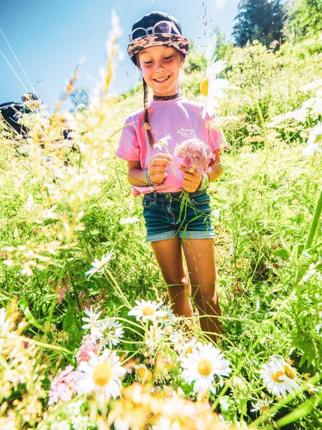 Enfant Nature Les 2 Alpes