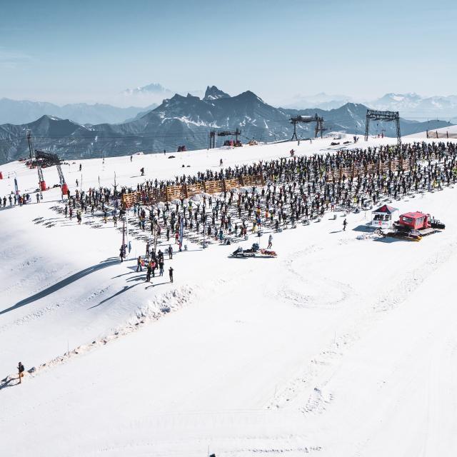 Glacier Les 2 Alpes Mountain Of Hell Vtt
