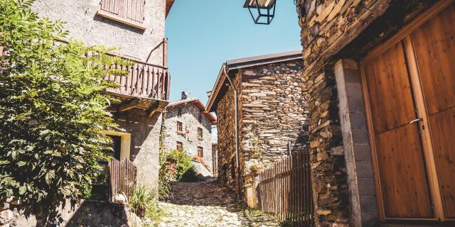 Lagrave Été Village Les2alpes Ruelles