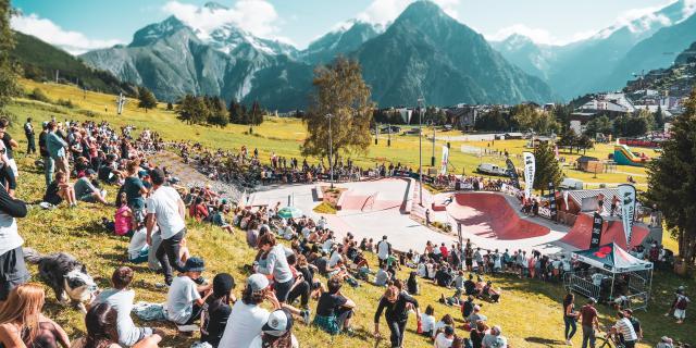 Les 2 Alpes Competition Skate Ete