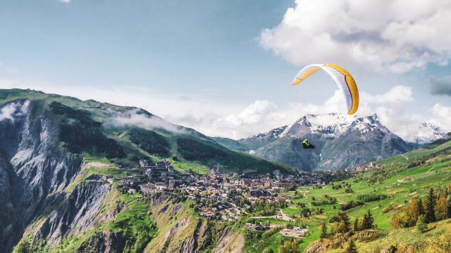 Les 2 Alpes Parapente Ete