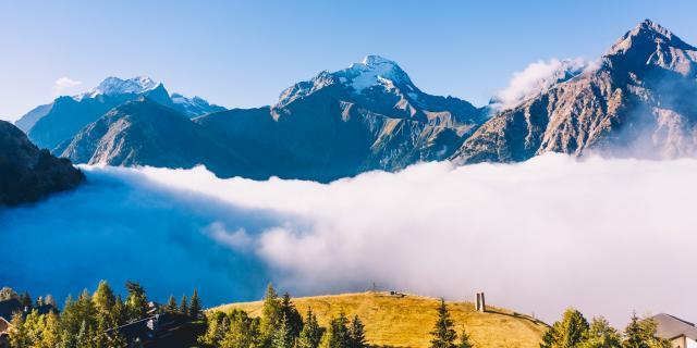 Point De Vue Venosc Depuis Les 2 Alpes
