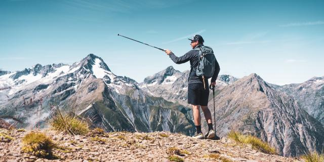 Trail Paysage Les 2 Alpes