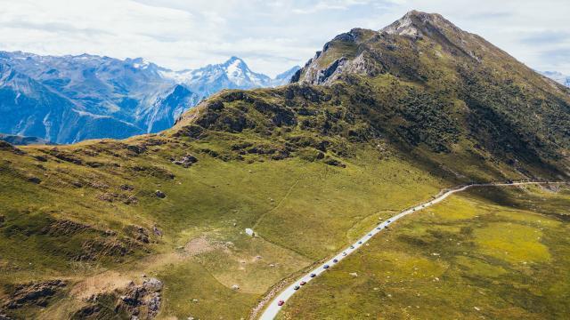 Voiture Station Itinéraire Les 2 Alpes Été