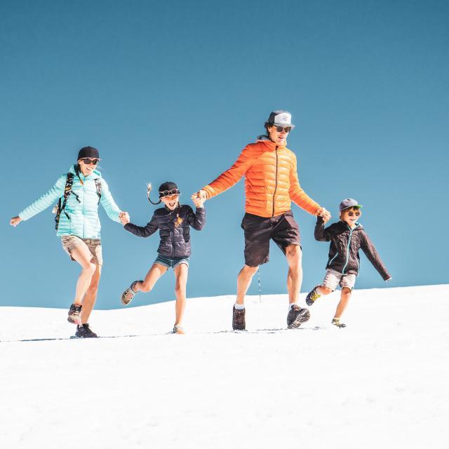 Famille Glacier été
