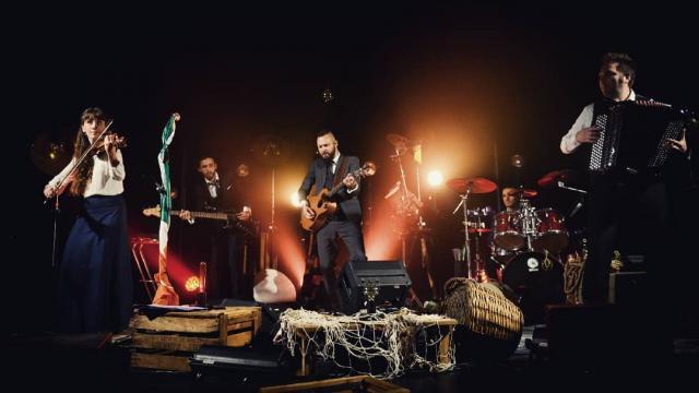 Julien Loko Irish Band Les Grimaldines (2)