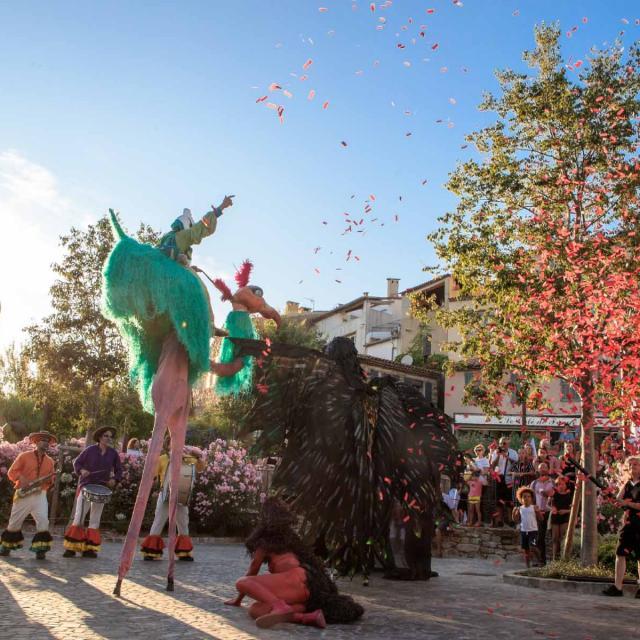 Les Grimaldines Dans Les Rues Festival Golfe De Saint Tropez (19)