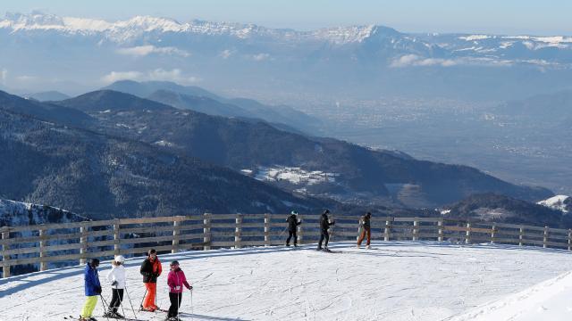 Prapoutel / Les 7 Laux : une vue imprenable sur Grenoble et la vallée du Grésivaudan depuis le domaine skiable