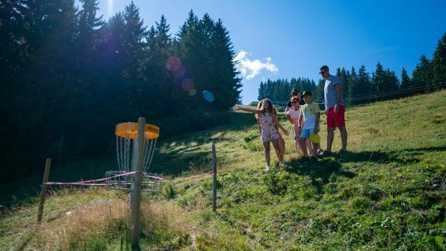 Disc-Golf au x 7 Laux