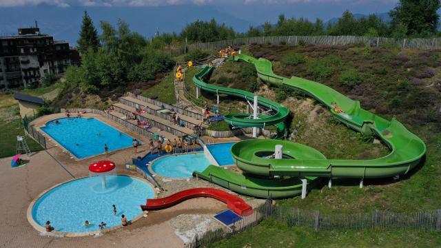 Centre aquatique les 7 Laux en été