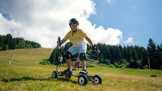 mountainboard aux 7 Laux en été