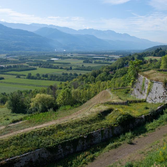 Fort barraux Vallée du Grésivaudan