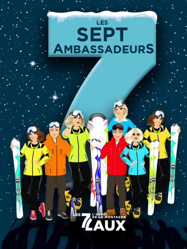 Les 7 Ambassadeurs des 7 Laux