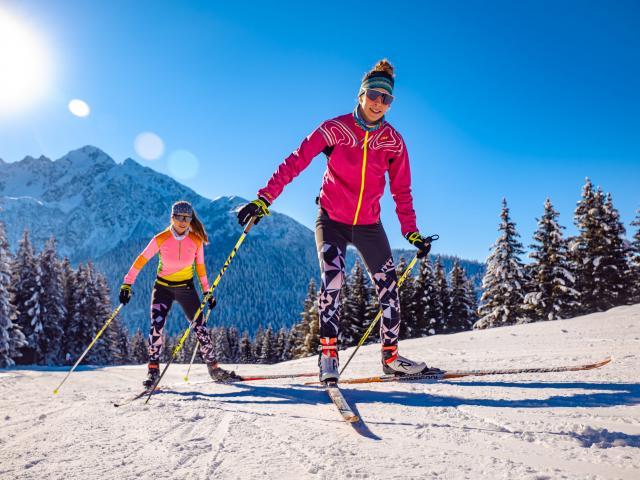 Ski de fond durant les vacances de février