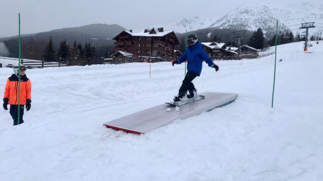 zone ludique luge et snowpark à Prapoutel à faire pour les vacances de février