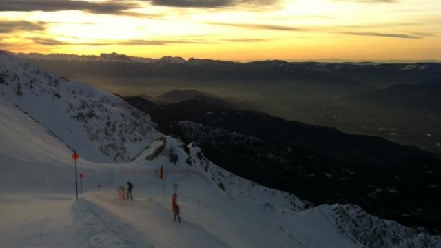 Les panoramas de la station des 7 Laux en hiver