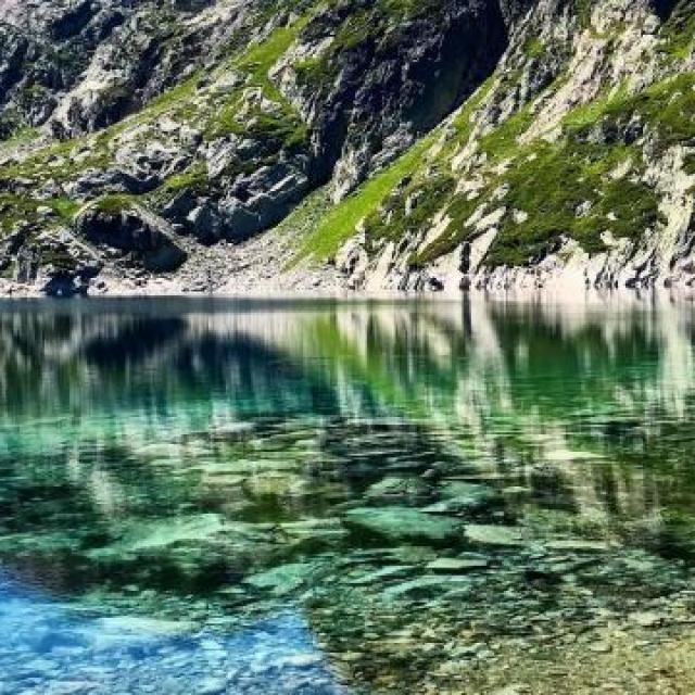lac de la jasse en été