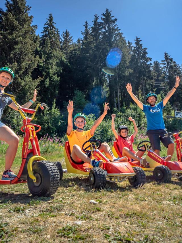 Deval'Kart et Trottin'Herbe aux 7 Laux
