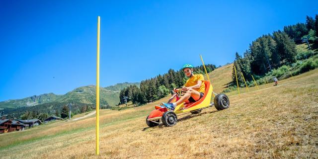 Parcours à obstacles en kart d'été aux 7 Laux