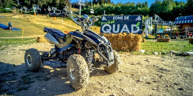 Acitvité quad éléctrique aux 7 Laux