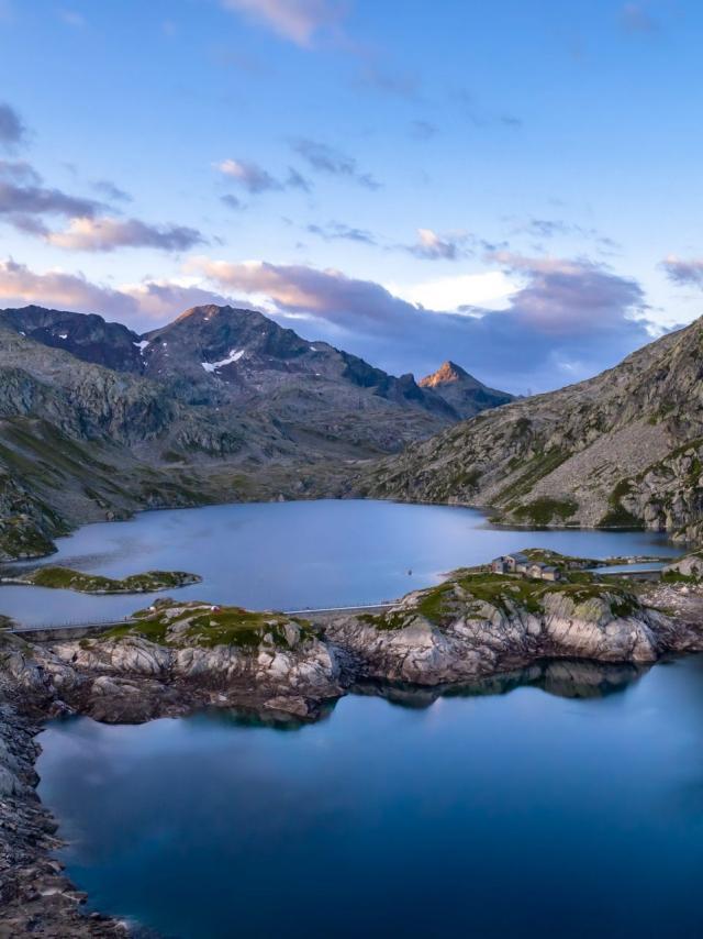 lac du refuge des 7 Laux