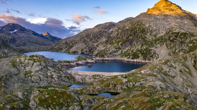 Lac des 7 Laux refuge été