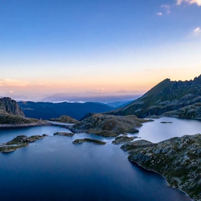 Lac des 7 Laux en été