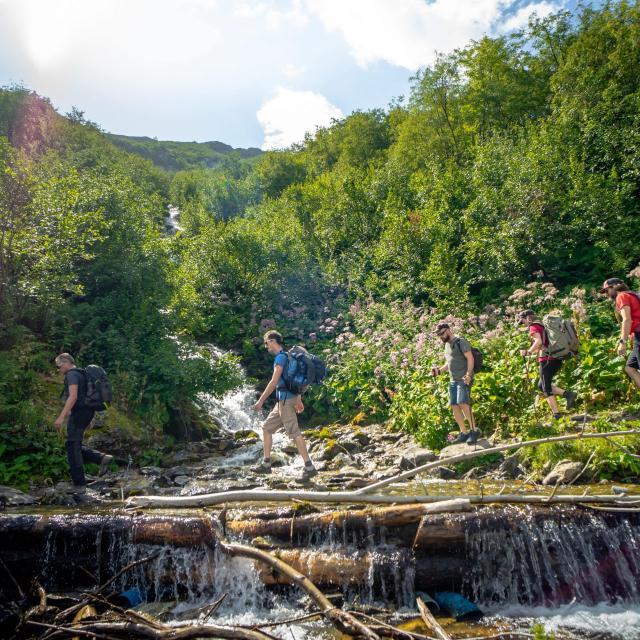 randonnée et balade aux 7 Laux en été
